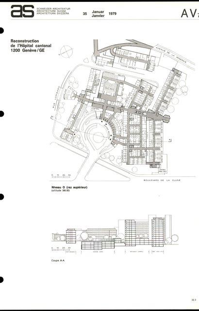Reconstruction de l'Hôpital cantonal, page 3