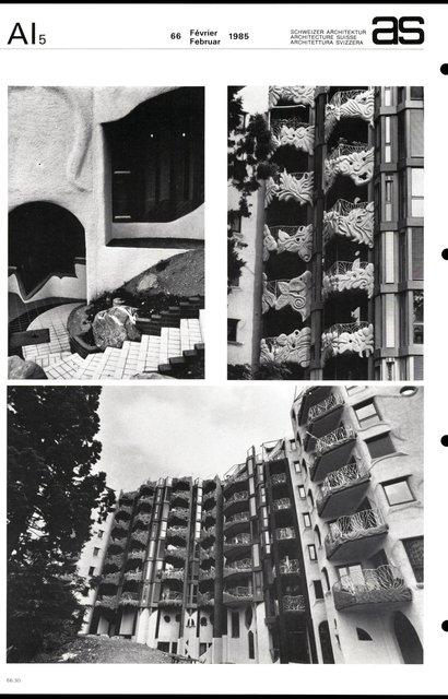 Immeuble d'habitation, page 4
