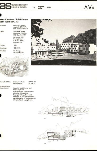 Exerzitienhaus Schönbrunn, page 1