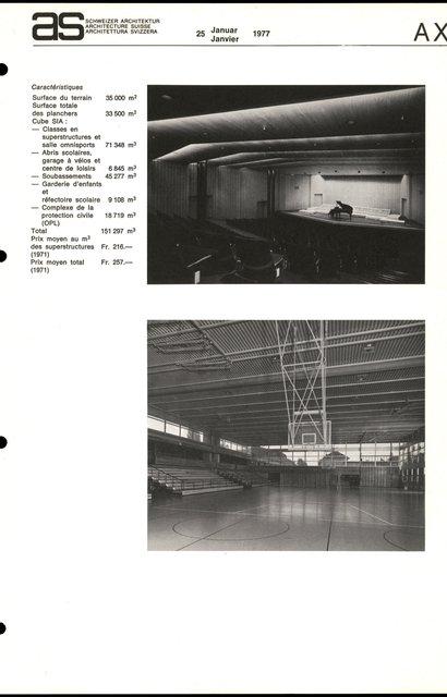 Groupe scolaire des Bergières, page 5