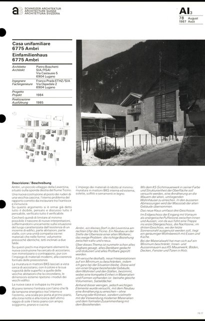 Einfamilienhaus, page 1