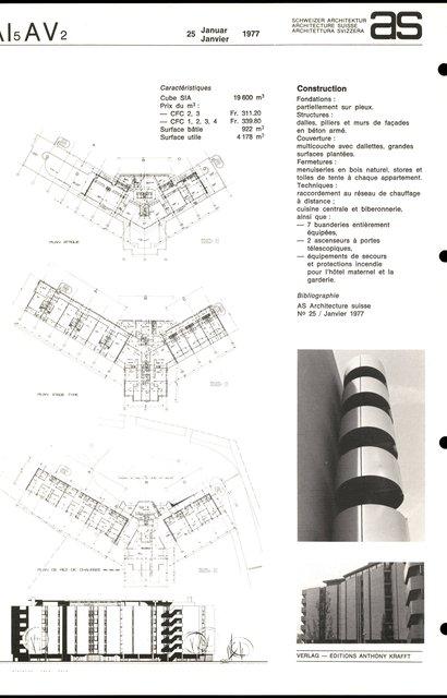 """Immeuble social et hôtel maternel """"Malley-Prairie"""", page 2"""