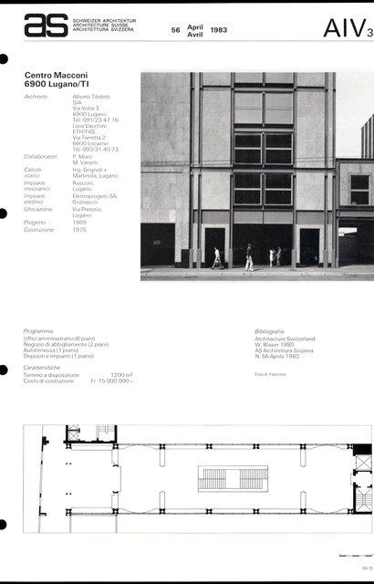 Centro Macconi, page 1