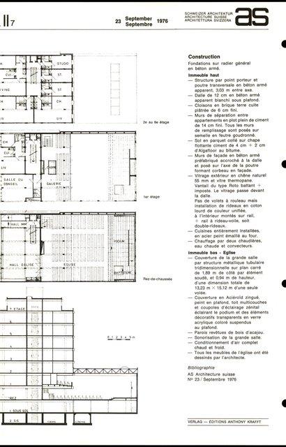 Centre paroissial de l'Eglise évangélique de Réveil, page 2