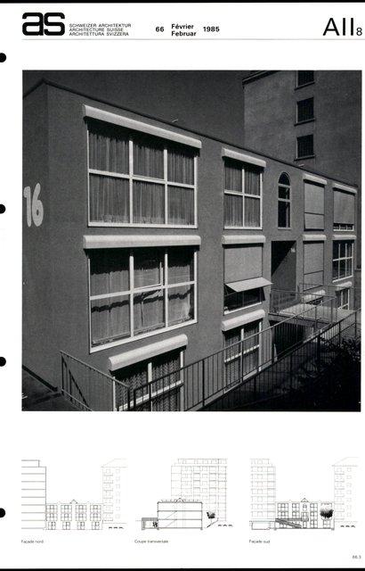 Immeuble d'ateliers pour artistes, page 3