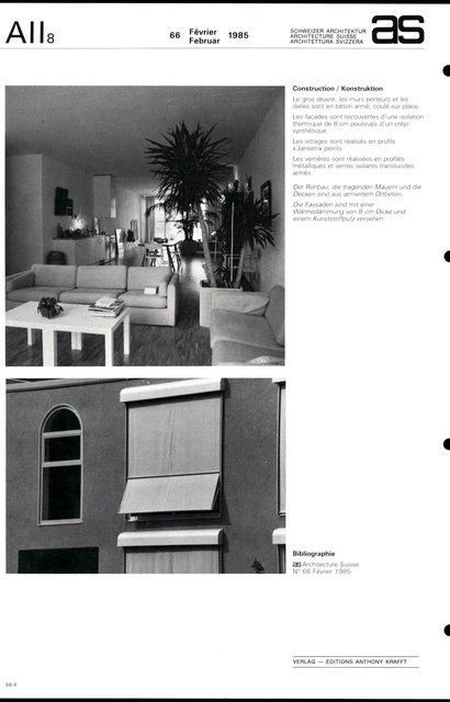 Immeuble d'ateliers pour artistes, page 4