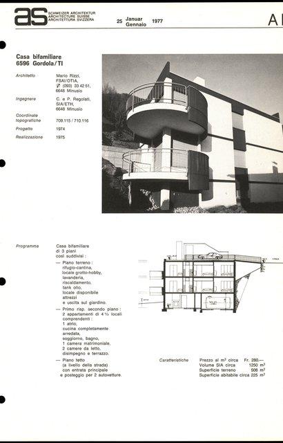 Casa bifamigliare, page 1