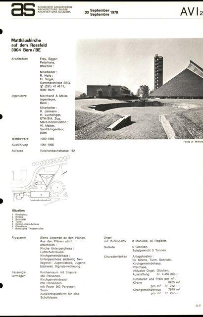 Matthäuskirche auf dem Rossfeld, page 1