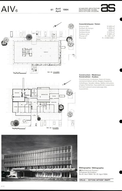 Immeuble administratif Warner Electric Ltd, page 2
