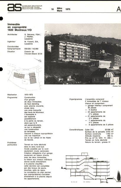 Immeuble en copropriété, page 1