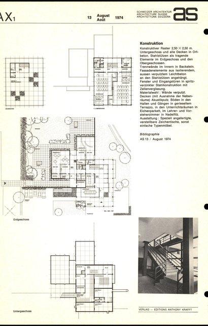 Zeichenklassenschulhaus und Kindergarten Schwabgut, page 2