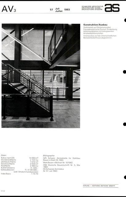 Mehrzweckgebäude Kirchbühl-Ost, page 4