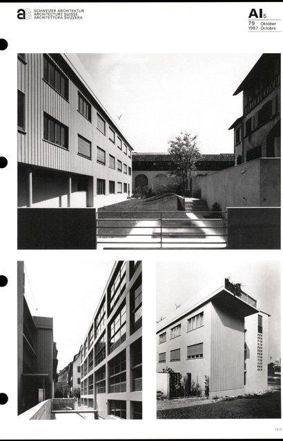 Deux immeubles d'habitation, page 3