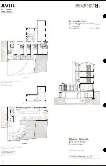 Umbau und Erweiterung eines Hotels, page 2