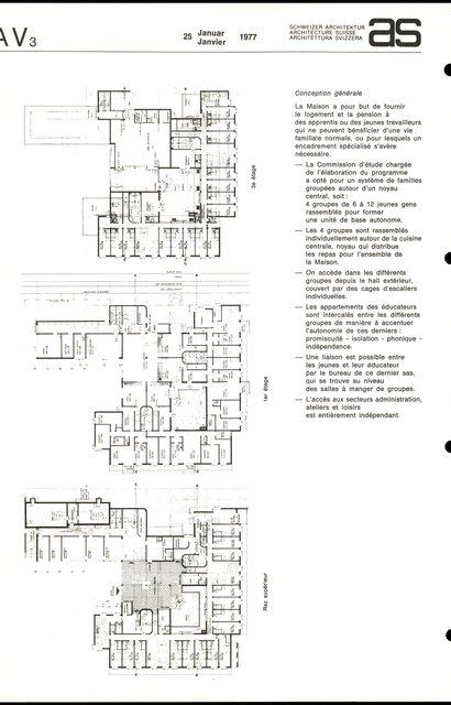 La Maison des Jeunes Foyer éducatif pour jeunes gens et jeunes filles, page 2