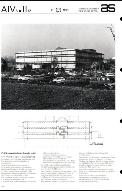 Siège européen Hewlett & Packard SA, page 4