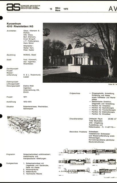 Kurzentrum, page 1