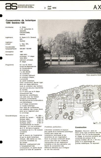 Conservatoire de botanique, page 1