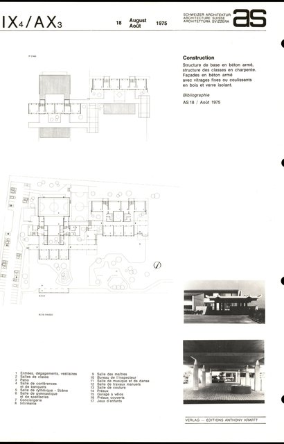 Groupe scolaire Bernex II et Salle communale, page 2