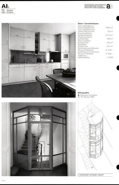 Transformation du bâtiment Feldeck, page 4