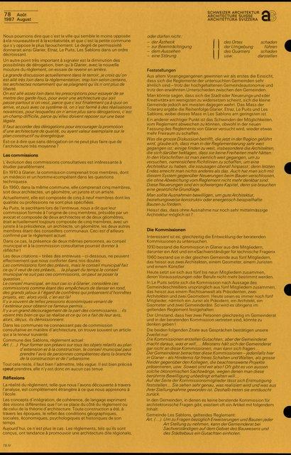 Règlements et image architecturale, page 5