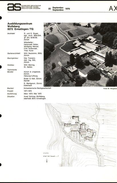 Ausbildungszentrum Wolfsberg, page 1
