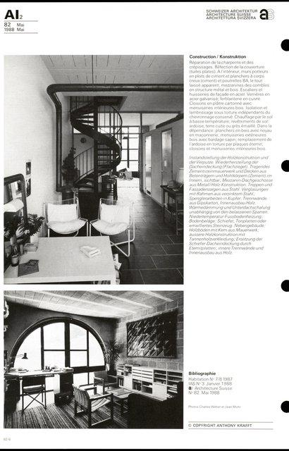Transformation d'un bâtiment rural et de sa dépendance, page 6