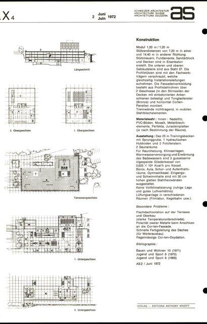 Neubau Schuldebäude der Eidg. Turn- und Sportschule, page 2