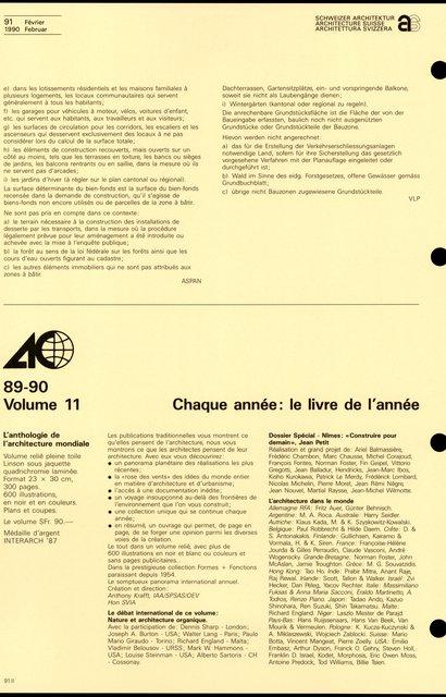 Chaque année: le livre de l'année, page 1
