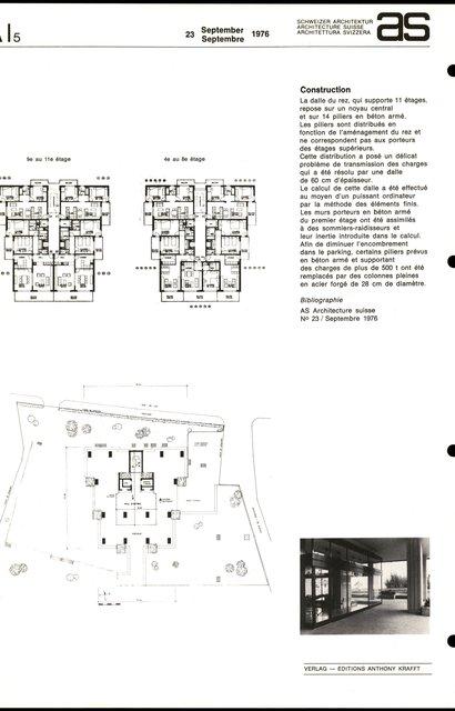 Immeuble résidentiel, page 2