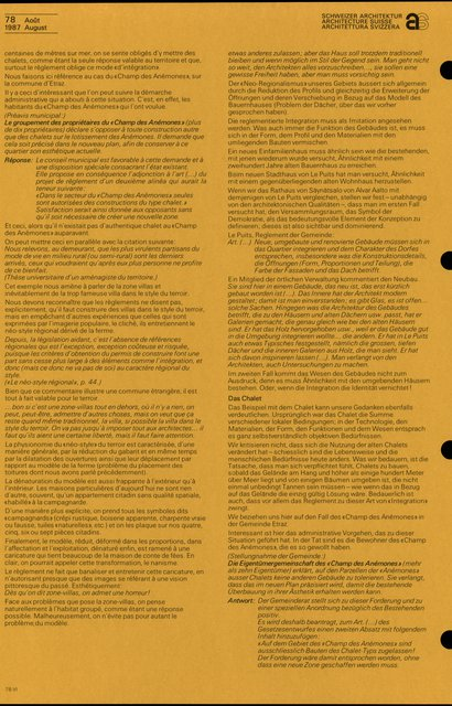 Règlements et image architecturale, page 7