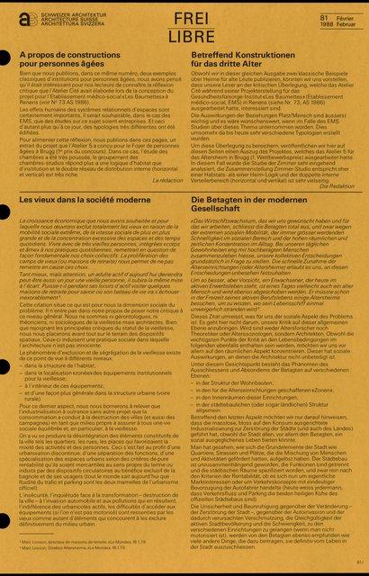 Les vieux dans la société moderne, page 1