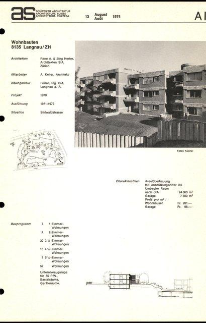 Wohnbauten, page 1