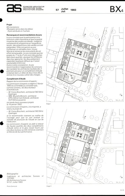 """Ecole professionnelle, 1er prix """"L'Ilot"""", page 3"""