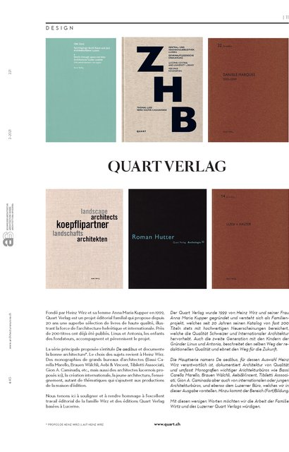Quart Verlag, page 1