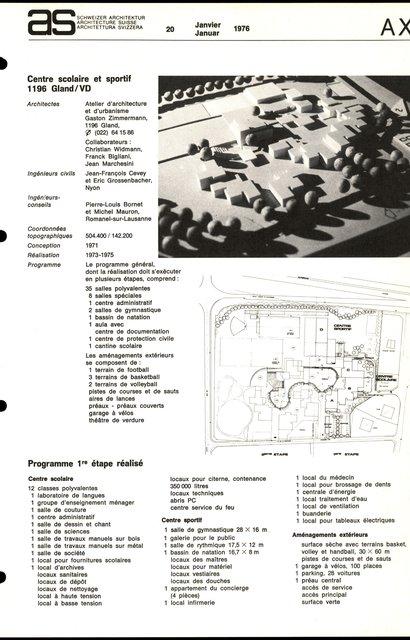 Sonderschulheim für geistig behinderte Kinder Chapella, page 3