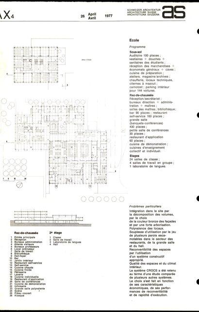 Nouvelle Ecole hôtelière, page 2