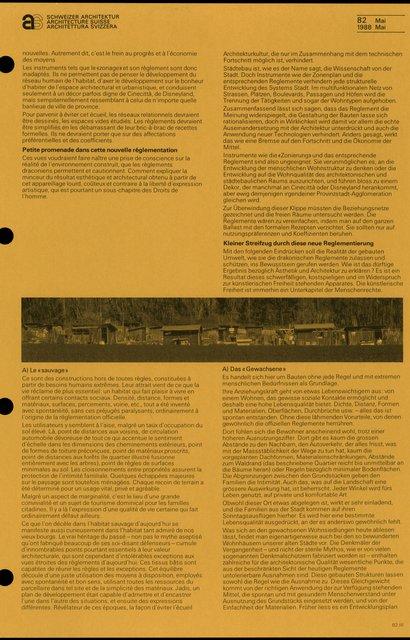 Les règlements: pléthore, pour quels objectifs ?, page 3