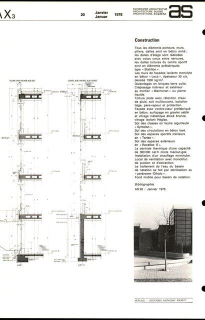 Centre scolaire et sportif, page 5