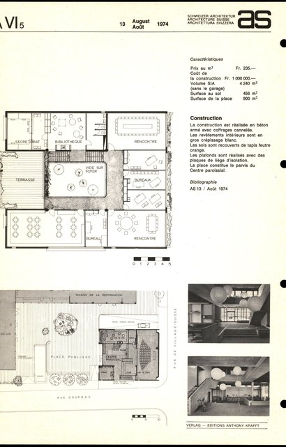 Centre paroissial de quartier, Forum de la Jonction, page 2