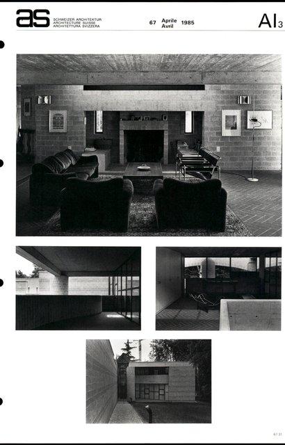 Maison d'habitation et cabinet de psychiatrie, page 3