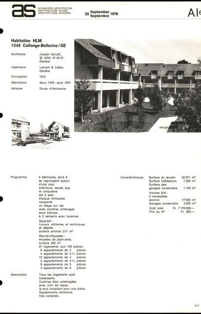 Habitation HLM, page 1