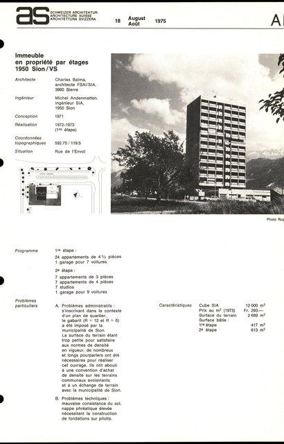 Immeuble en propriété par étages, page 1