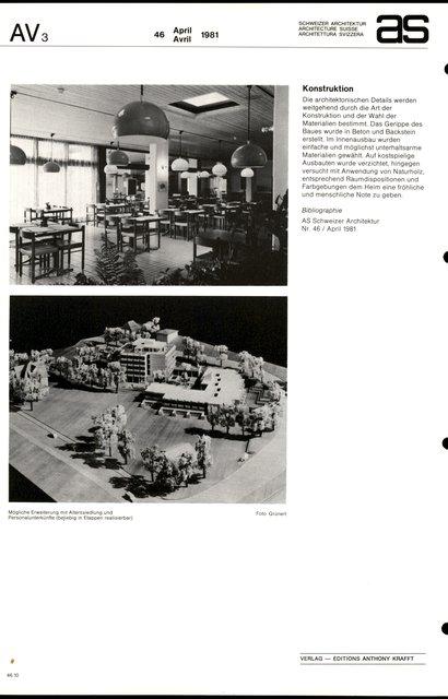 Altersheim Scheidegg, page 4