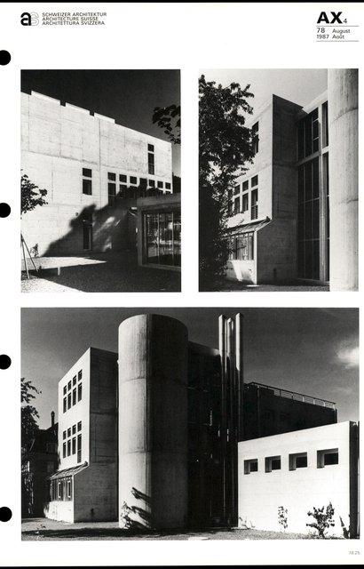 Transformation et agrandissement de l'Ecole normale cantonale, page 5