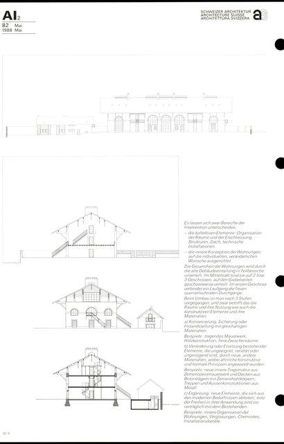 Transformation d'un bâtiment rural et de sa dépendance, page 4