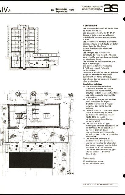 Immeuble administratif et commercial, page 2