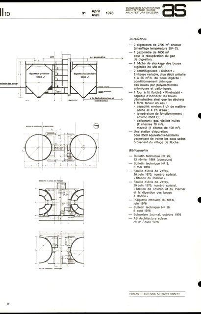 SIEG Vevey-Montreux Service intercommunal d'épuration des eaux, page 8