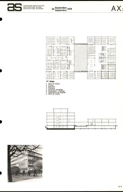 Ecole secondaire et de commerce, page 3
