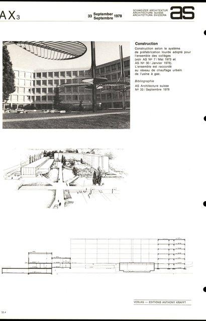 Collège des Coudriers, page 4